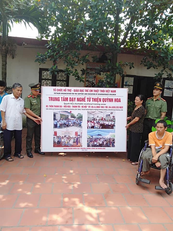 Trung tâm dạy nghề từ thiện Quỳnh Hoa