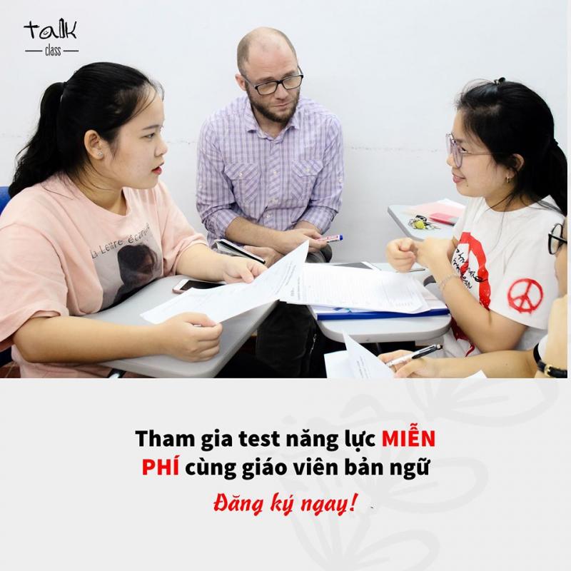 Trung tâm tiếng Anh Talk Class