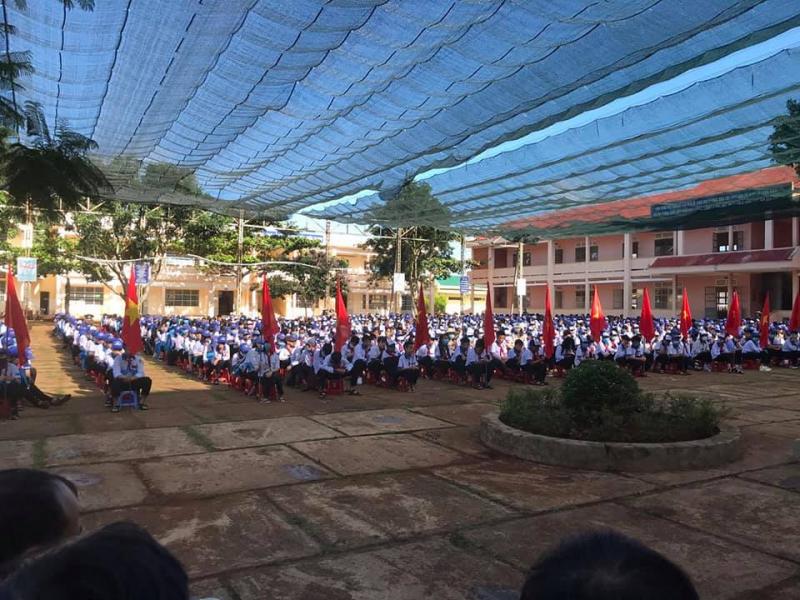 Trường THCS Tân Hà