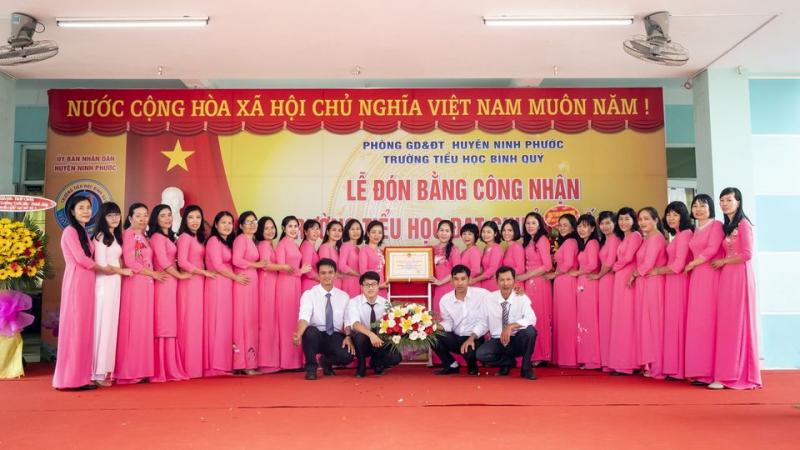 Trường Tiểu học Bình Quý