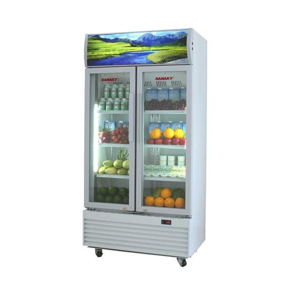 Tủ đông inox mặt kính Sanaky VH-1099K