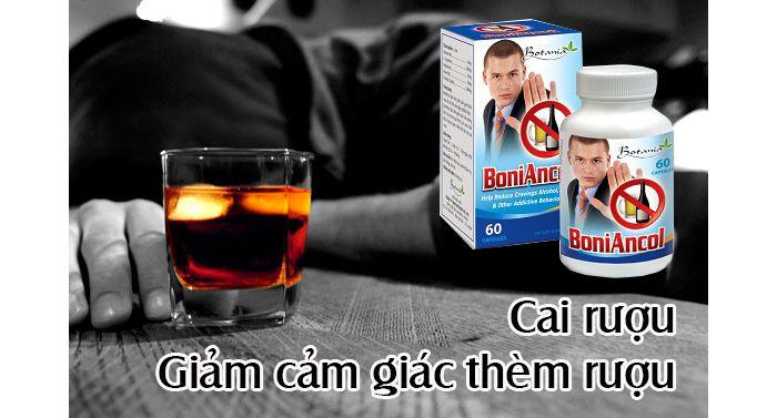 Viên Uống Giúp Cai Rượu Boniancol