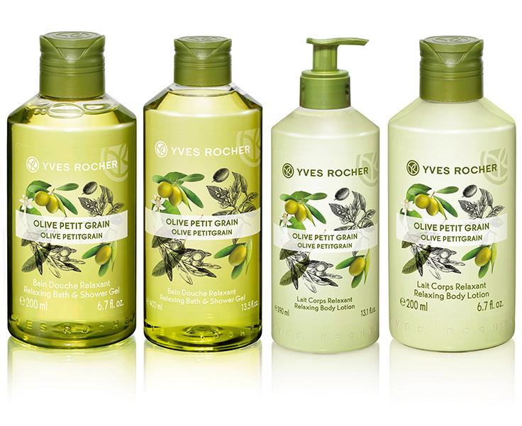 Yves Rocher Relaxing Olive Lemongrass Body Lotion