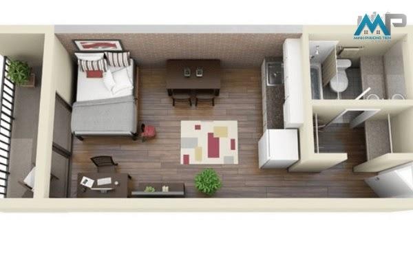Bản vẽ thiết kế nhà thực tế bởi Xây dựng Minh Phương Tiến