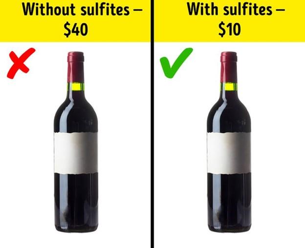 Bạn không nên sợ tất cả các chất phụ gia có trong rượu vang