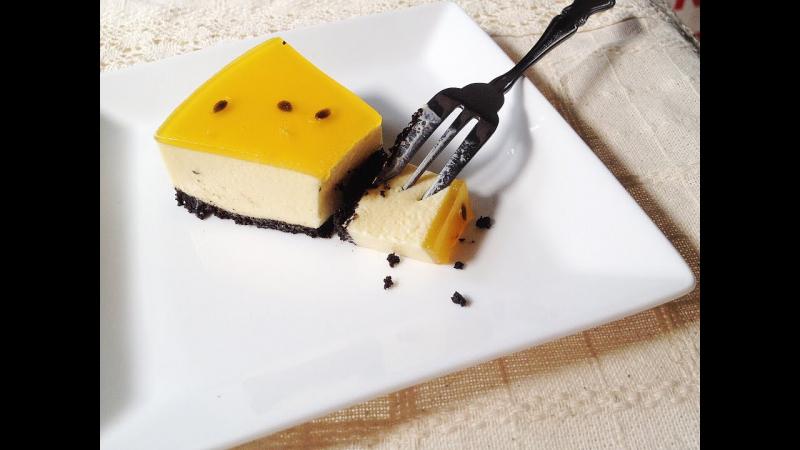 Bánh cheesecake chanh leo