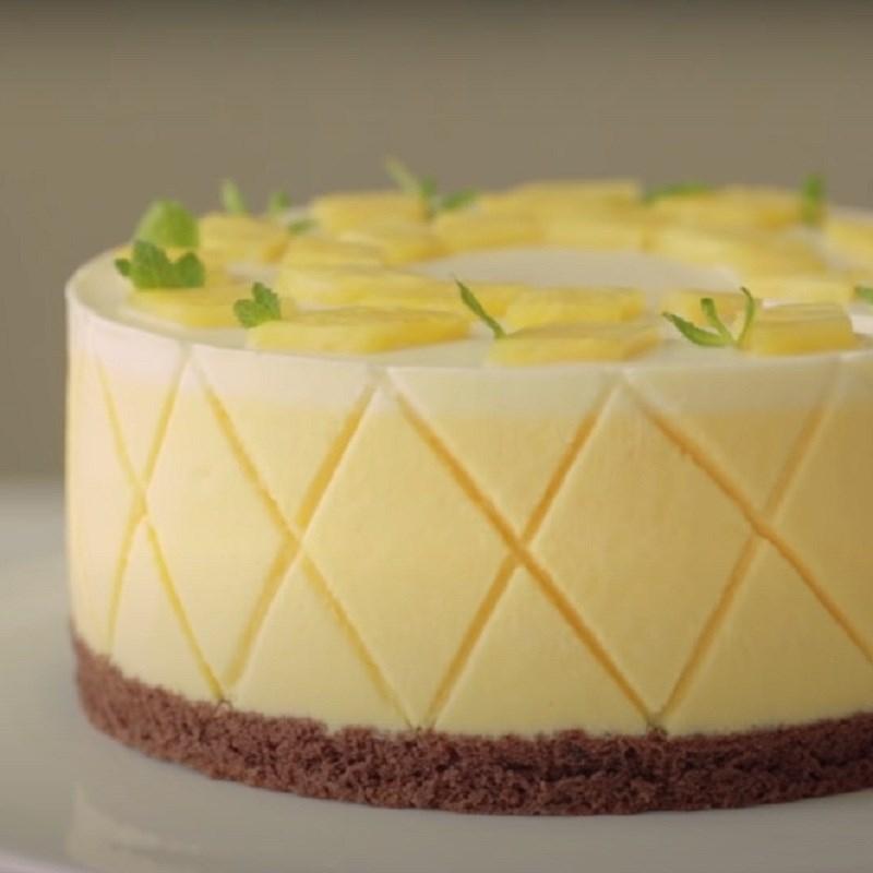 Bánh cheesecake dứa