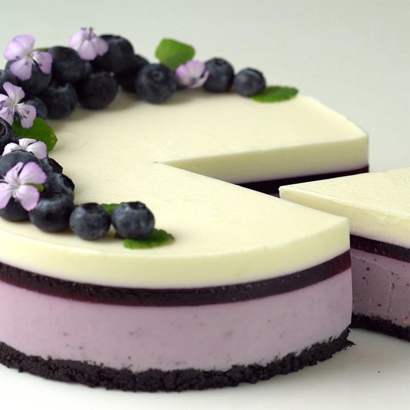 Bánh cheesecake việt quất