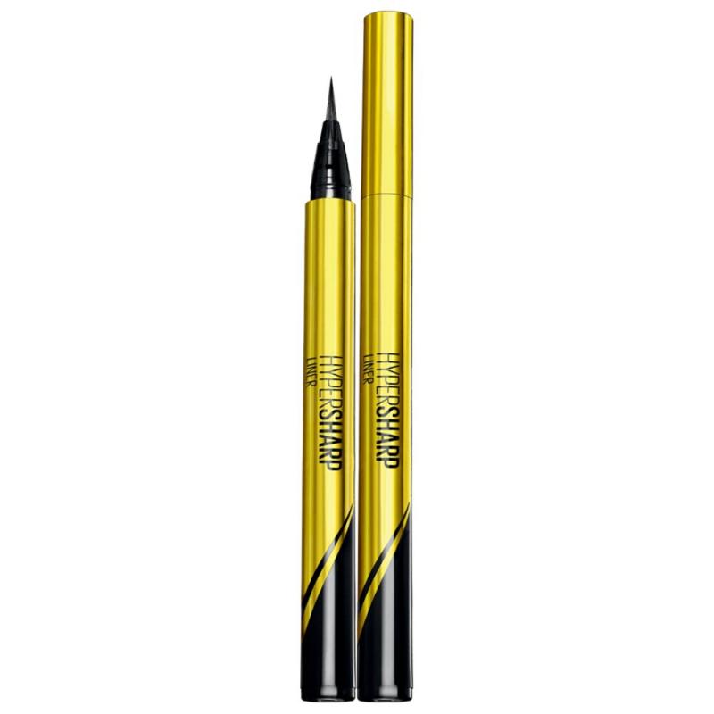 Bút kẻ mắt nước siêu sắc mảnh không lem không trôi Maybelline New York HyperSharp Liner Đen 05g