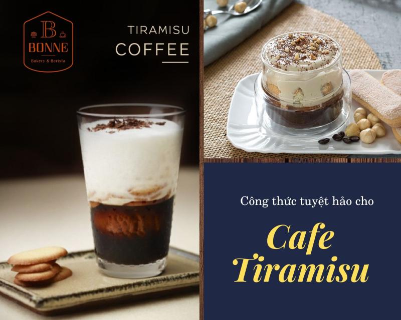Cà phê Tiramisu
