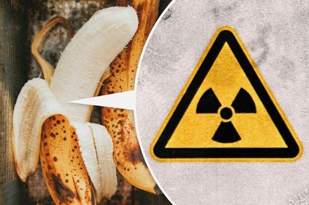 Chuối có chất phóng xạ