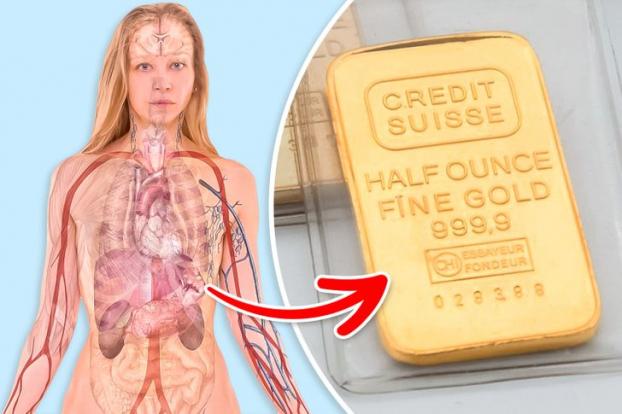 Cơ thể con người chứa 0,2 mg vàng