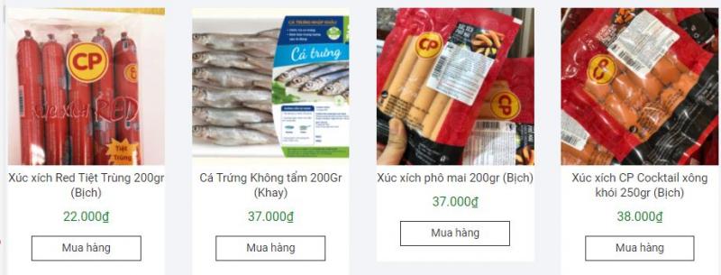 Cửa hàng thực phẩm sạch Ánh Dương