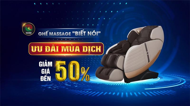 Đại lý ghế massage Osanno