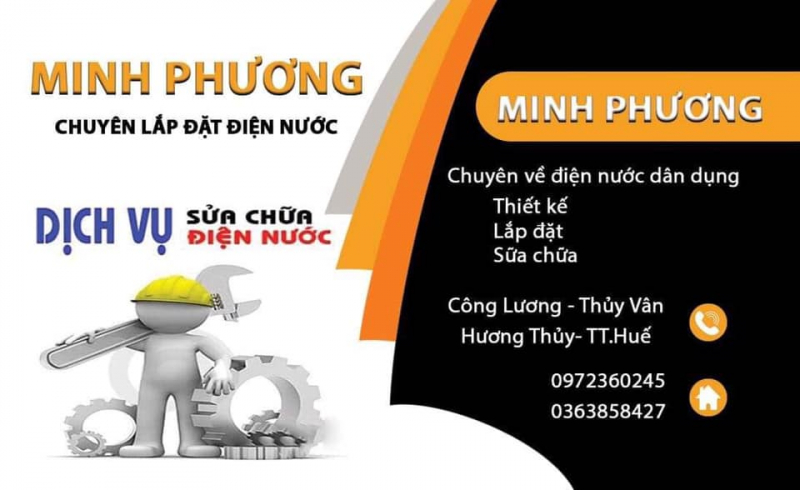 Dịch vụ sửa chữa điện nước Minh Phương