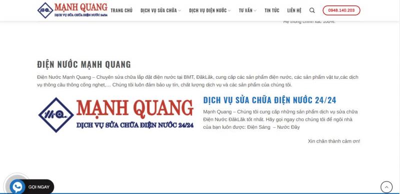 Điện Nước Minh Quang