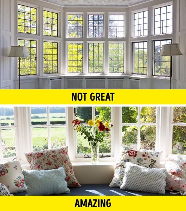 Đừng quên về không gian cửa sổ