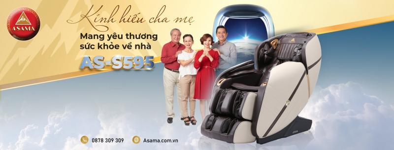 Ghế Massage Asama Pleiku - Gia Lai