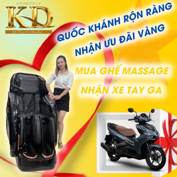Ghế Massage Nhật Bản - KYODO Đà Lạt