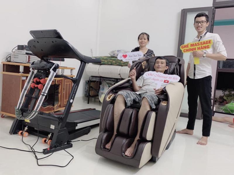 Ghế Massage Trị Liệu Cao Cấp Quy Nhơn