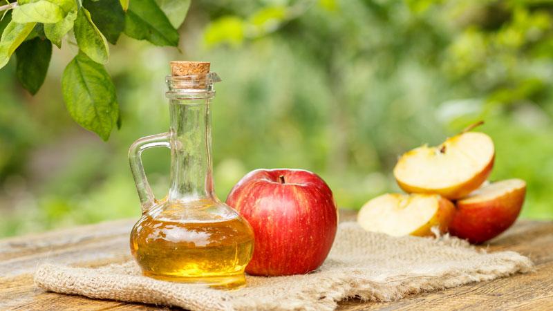Giảm cân bằng giấm táo và đậu đen