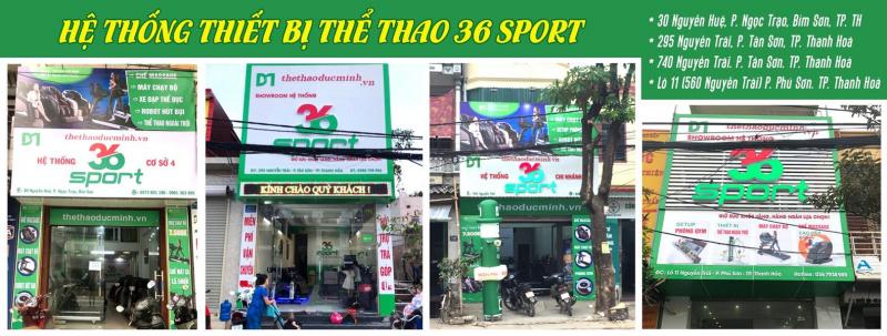 Hệ thống thiết bị thể thao 36 Sport