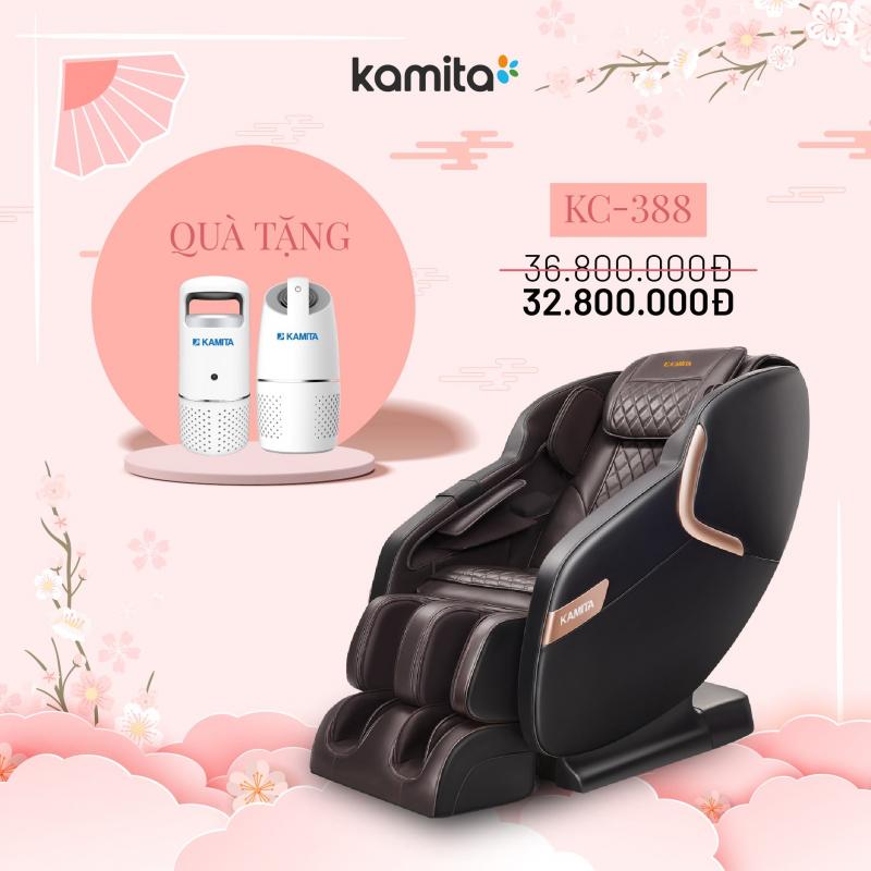 KAMITA - Ghế Massage Cao Cấp Nhật Bản