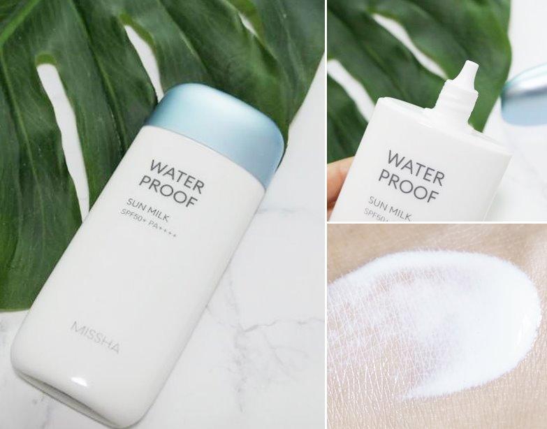 Kem chống nắng Missha All Around Safe Block Waterproof Sun Milk