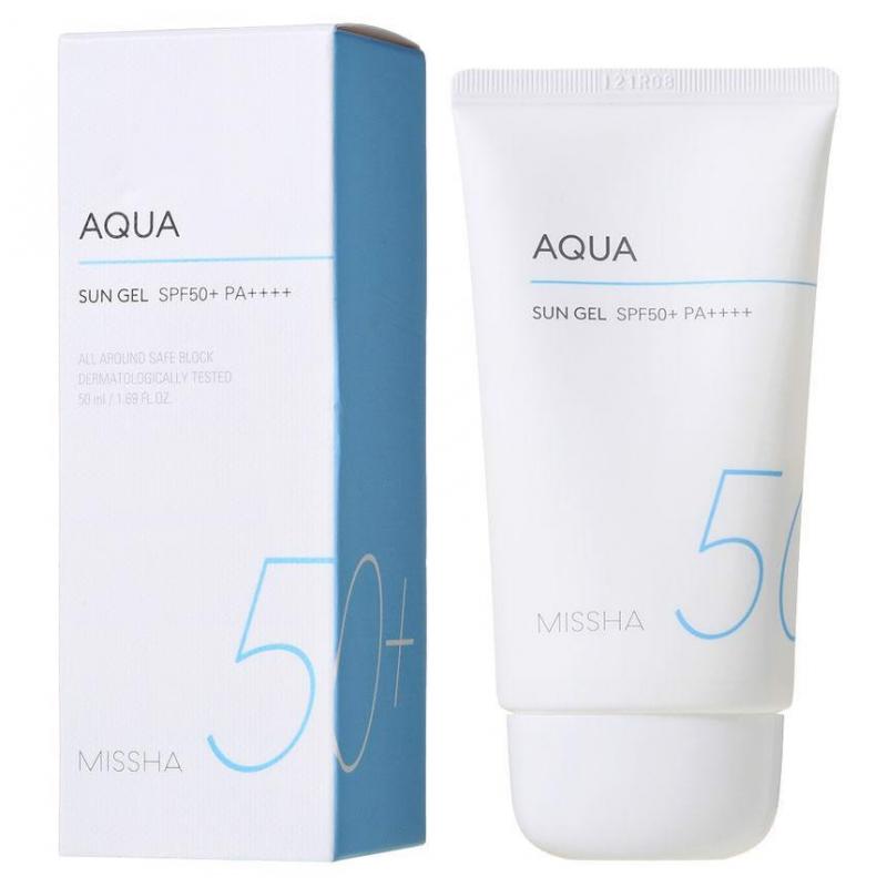 Kem chống nắng Missha Aqua Sun Gel SPF50+++ All Around Safe Block