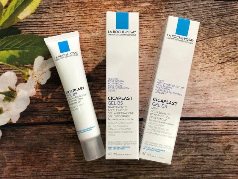 Kem dưỡng dạng gel giúp làm mờ sẹo, hỗ trợ phục hồi & tái tạo da La Roche-Posay Cicaplast Gel B5 40ml