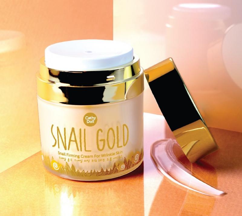 Kem ốc sên tinh chất vàng Snail Gold Cathy Doll
