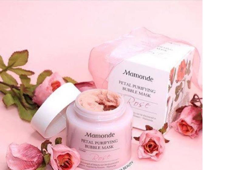 Mặt Nạ Sủi Bọt Thải Độc Da Mamonde Petal Purifying Bubble Mask
