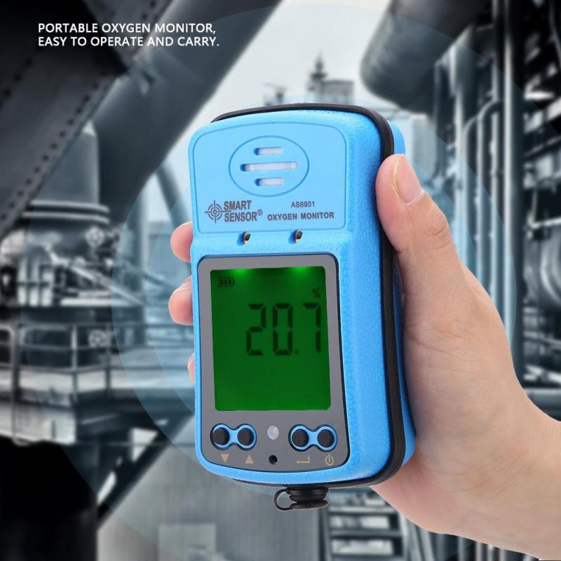 Máy đo nồng độ khí Oxy trong không khí Smartsensor  AS8901
