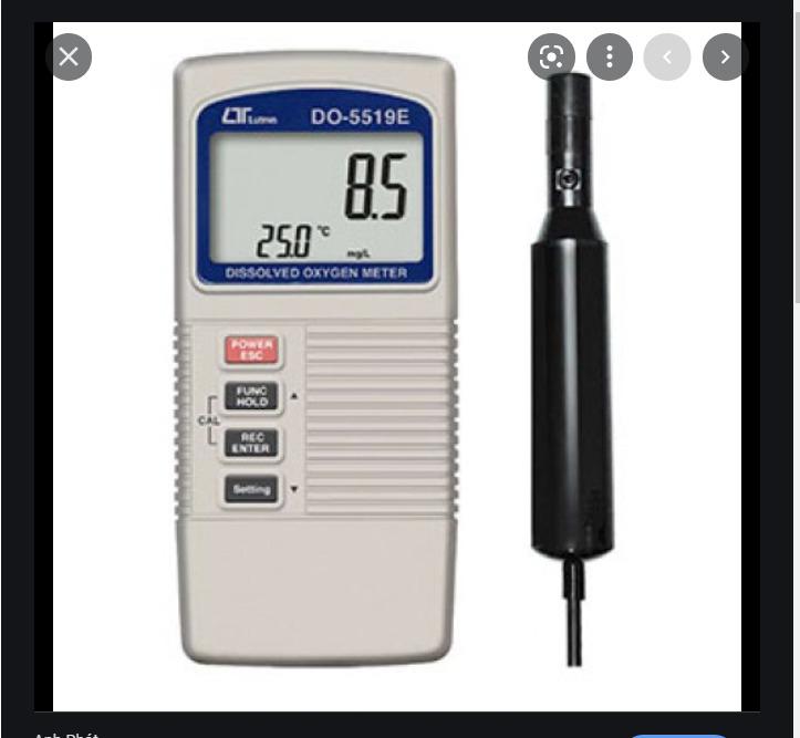 Máy đo nồng độ oxy trong không khí LUTRON DO-5519E