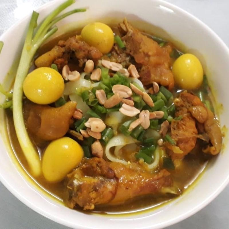 Mì Quảng gà