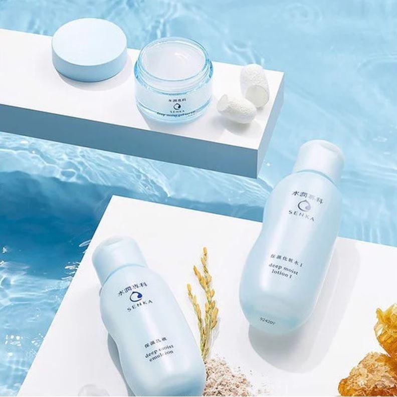 Nước cân bằng và dưỡng ẩm chuyên sâu Senka deep moist lotion
