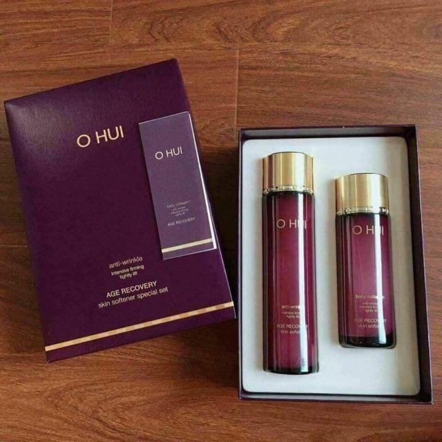 Nước hoa hồng Ohui Age Recovery Skin Softener