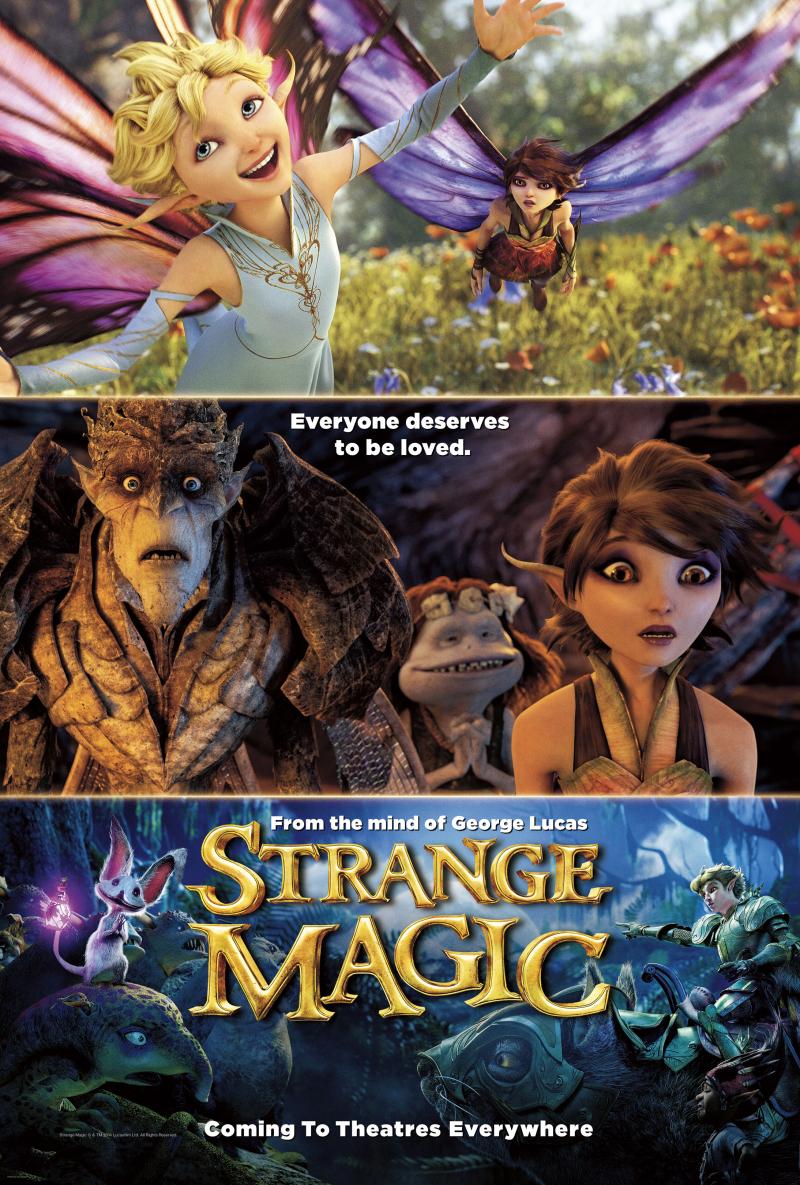 Phép Thuật Kỳ Lạ - Strange Magic (2015)