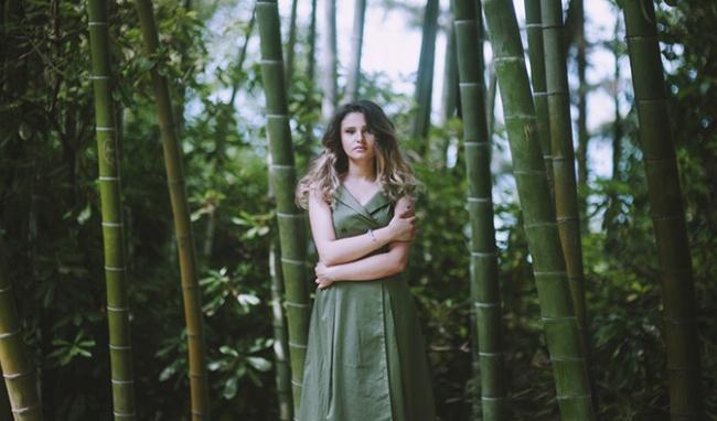 Quần áo bằng vải sợi tre