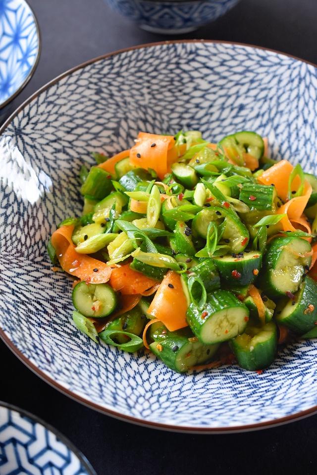 Salad Cà Rốt Dưa Chuột