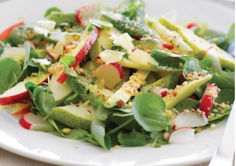 Salad bơ táo