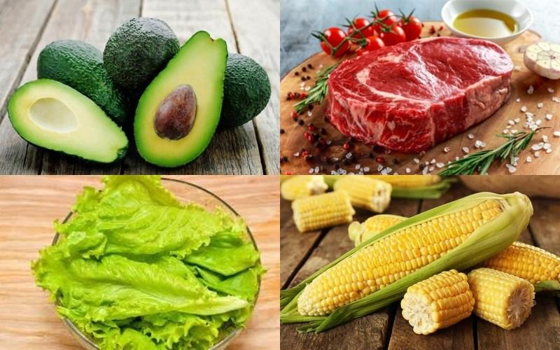 Salad bơ thịt bò