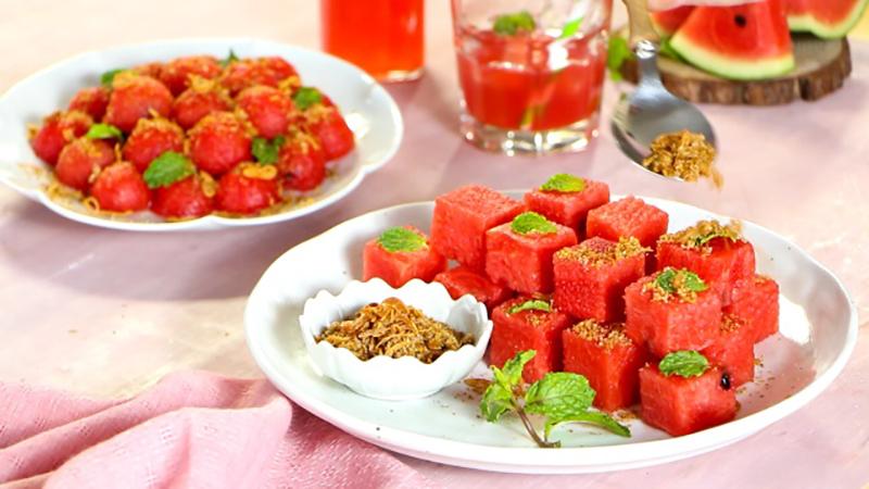 Salad dưa hấu kiểu Thái