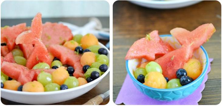 Salad dưa hấu trái cây