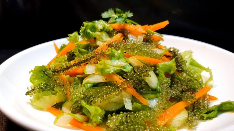 Salad rong nho chay