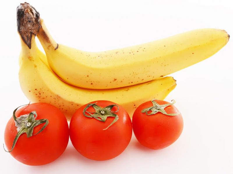 Sinh tố chuối cà chua