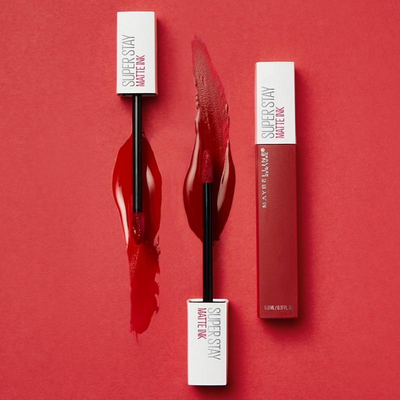 Son Kem Lì 16h Lâu Trôi Maybelline New York Super Stay Matte Ink City Edition Lipstick 5ml