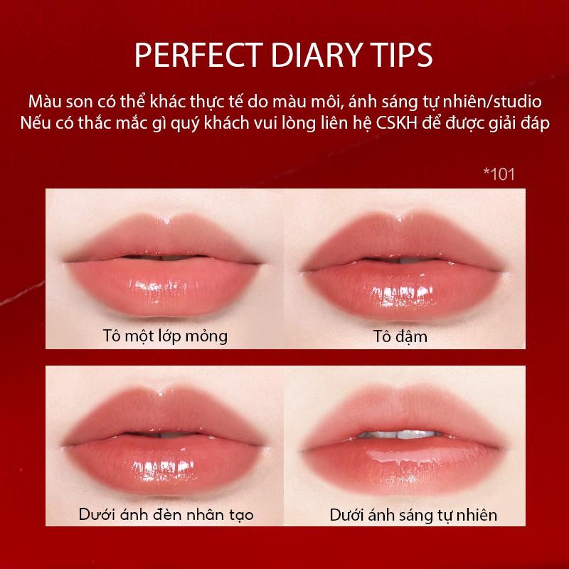 Son bóng ReadMe Rippled Lip Gloss High Shine Finish Perfect Diary