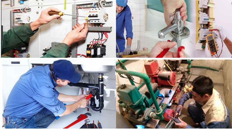 Sửa chữa điện nước Thảo Nguyên