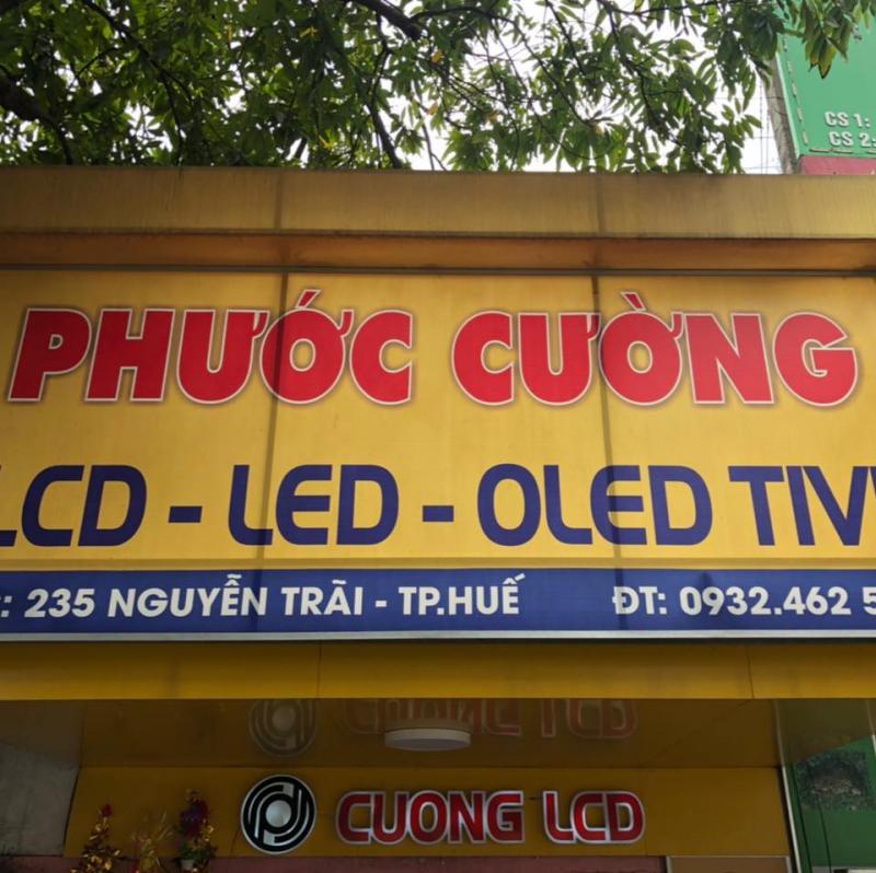 Sửa chữa tivi tại nhà Huế - Cường LCD